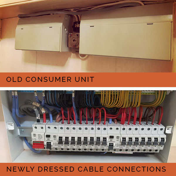 Consumer Unit upgrade : Dearie and Co Electrical.  Ross on Wye Electricians